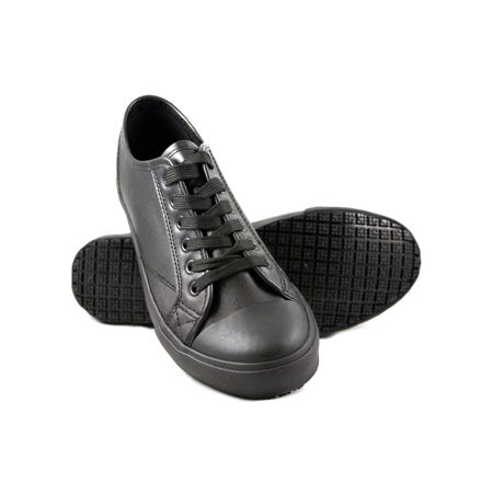 Slip Resistant Work Leather Shoes for Men Women - Tanleewa