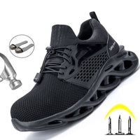 Male Work Sneakers Toe Cap Work Safety Boot Comfort Men Boots Anti-puncture Safety Shoes Men Indestructible Shoes Work Boots