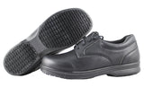 Townforst Samuel Men's Slip and Oil Resistant Lace Up Shoes Black