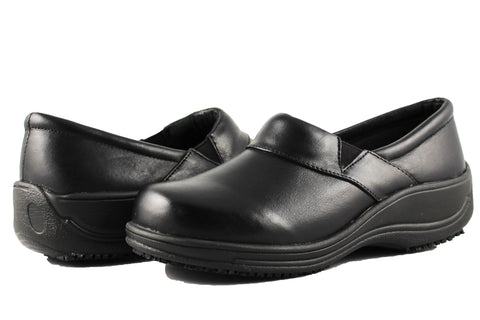 Townforst Jodie Women's Slip and Oil Resistant Shoes Nappa Leather