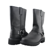 Men's Motorcycle Boots Fashion Handmade Engineer Boots - Tanleewa
