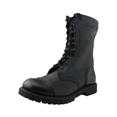 Mens Tactical Cap Toe Army Boot - Tanleewa