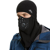 Winter Cycling Mask Thermal Keep Warm Windproof Half Face Sport Mask Balaclava Skiing Running Snownboard Hat Headwear