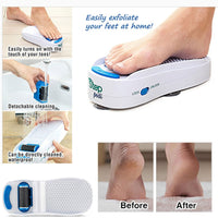 New Arrival Step Pedi Automatic Grinding Feet Callus Remover Electric Silicone Foot Care Tool Waterproof  Feet Grinder Foot File