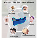Fitness Equipment Hip Trainer Pelvic Floor Muscle Inner Thigh Buttocks Tight Supplie Beauty Training Pelvic Floor Muscle excise