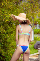 Sexy Handmade Crochet Bikini Women Swimsuit Crochet Swimwear Female Brazilian Bikini Set Beach Wear Clothes Bathing Suit