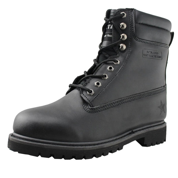 Mens Waterproof Casual Ankle Boots - Tanleewa