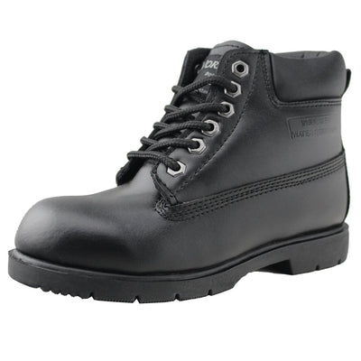 Water Resistant Leather Work Shoes for Men - Tanleewa