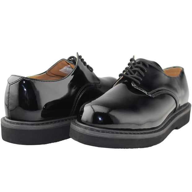 Men Oxford Leather Work Shoes - Tanleewa