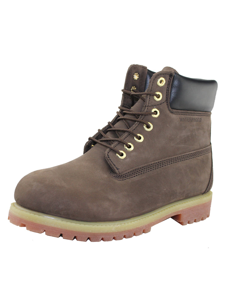 Mens Waterproof Nubuck Leather Thinsulate Work Shoes - Tanleewa