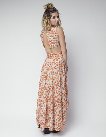 Joro Maxi Dress/Jumper: Kenya Print