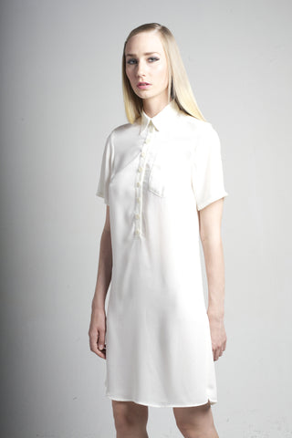Shenae Dress <br> Off-white