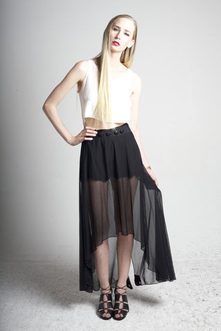 Joro Skirt/Pant: Mesh (Black or Off-White)