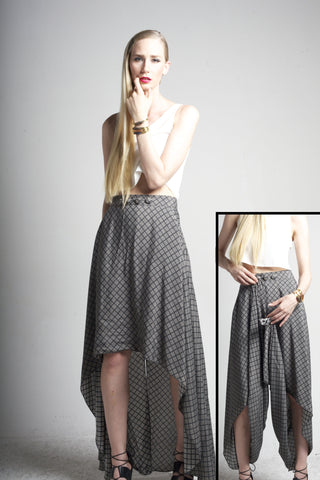 Joro Skirt/Pant: Diamond Print