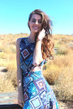 Joro Maxi Dress/Jumper: Honduras Print