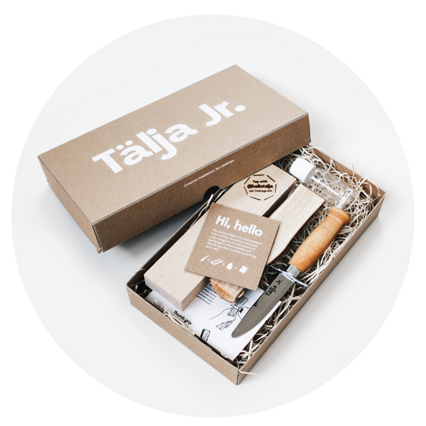 Tälja Jr. – Woodcarving kit for children