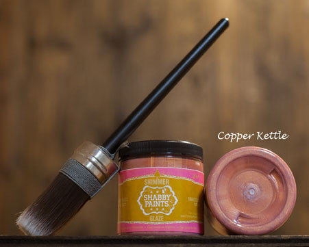 Copper Kettle Shimmer Glaze