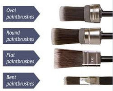 The CLING ON! A superb paintbrush. Super sharp cutting in, fuller and smoother finish.