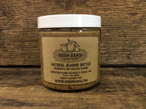 Dry Roasted Almond Butter