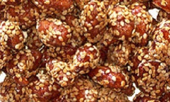 Sesame Glazed Almonds