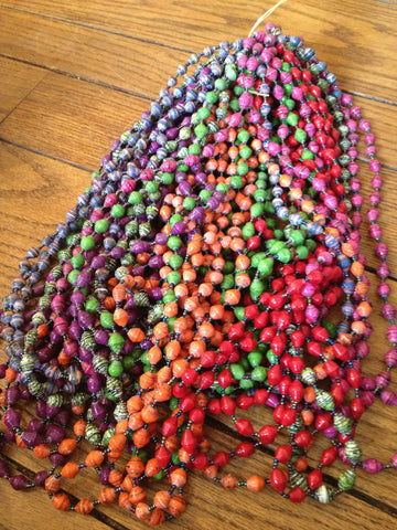 Emily Long Bead Necklace