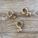 Bronze Bracelet and Ring with Bell - A Fair Trade World