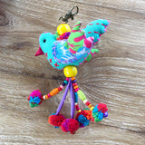 Animal and Bird Key Ring/Backpack Accessory - A Fair Trade World