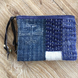 Blue Patched Batik Bag - A Fair Trade World