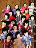 Girl & Boy Asian Dolls
