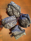 Indigo Batik Pouches - A Fair Trade World