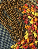 Dramatic Multistrand Beaded Necklace - A Fair Trade World
