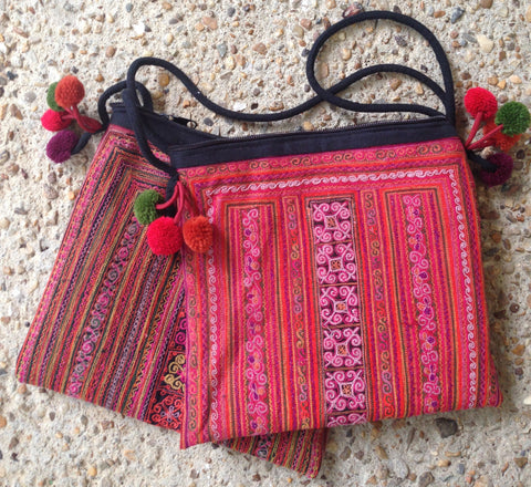 Thai Hill Tribe Shouder Bag - A Fair Trade World