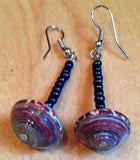 Utukufu Disk Bead Earrings - A Fair Trade World