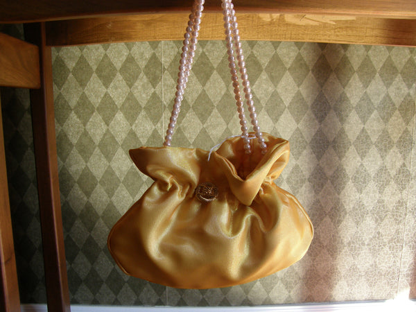 Yellow Evening Bag