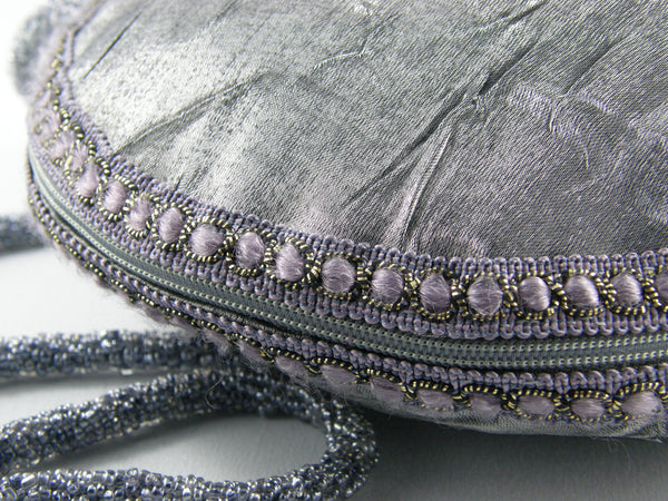 Grey Evening Bag