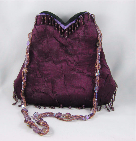 Plum Evening Bag