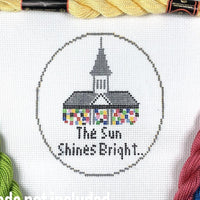 The Sun Shines Bright Canvas - Needlepoint by Laura, LLC