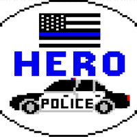 HERO Police Canvas