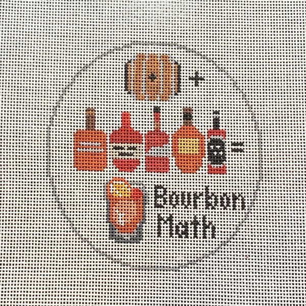 Bourbon Math Canvas - Needlepoint by Laura, LLC