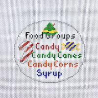 Elf Canvas the Four Food Groups
