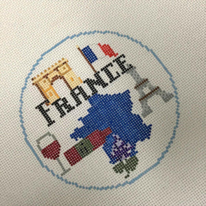 France Canvas - Needlepoint by Laura, LLC