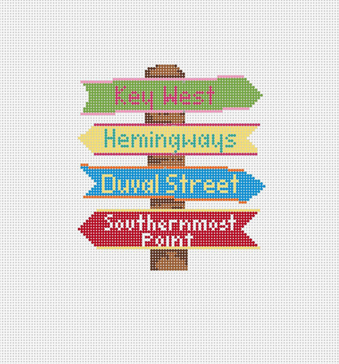 Key West Destination Sign