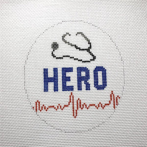 HERO Canvas - Needlepoint by Laura, LLC