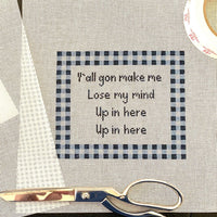 Up in here - Needlepoint by Laura, LLC