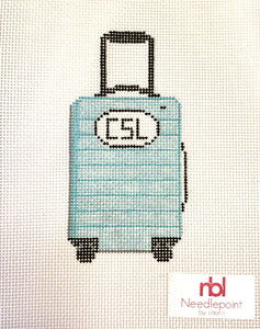 Travel Suitcase 2.0 - Needlepoint by Laura, LLC