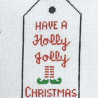 Christmas Gift Tag Holly Jolly Christmas