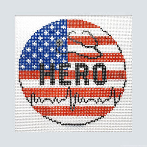 HERO USA Canvas - Needlepoint by Laura, LLC