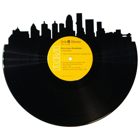 Louisville Skyline Vinyl Record Art