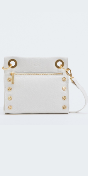 Tony SML Crossbody Handbag - Limited Edition - Marshmallow White Snake
