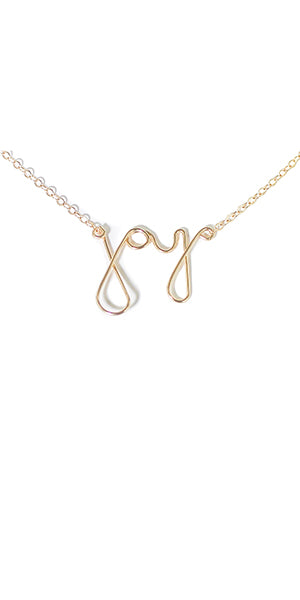 Joy Necklace by Amy Joy